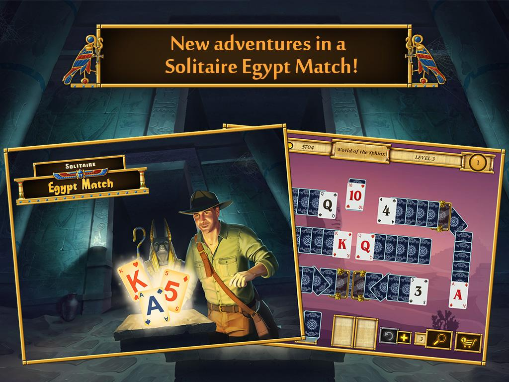 Solitaire Egypt Match Screenshot 10