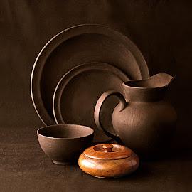 Velvet Brown by Rakesh Syal - Artistic Objects Still Life (  )