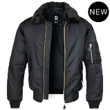 MA2 Jacket Fur Collar - Brandit - чёрный