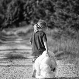 Sawyer by Theresa  Floyd - Babies & Children Children Candids ( walking, nature, sad, nephew, country )