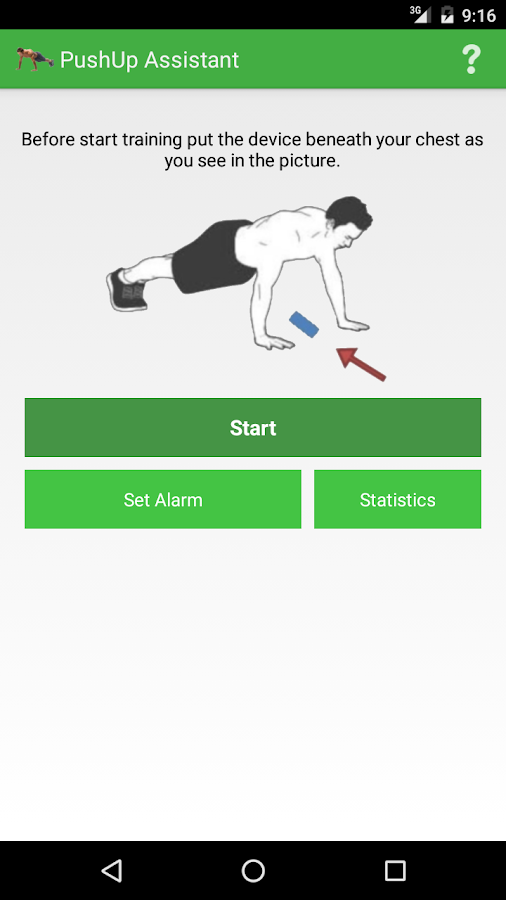 PushUp Assistant Ad-Free Screenshot 0