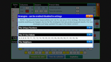 Screenshot of Smart Roulette Tracker