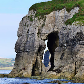 Cliff hole by Dermot McIlroy - Landscapes Caves & Formations