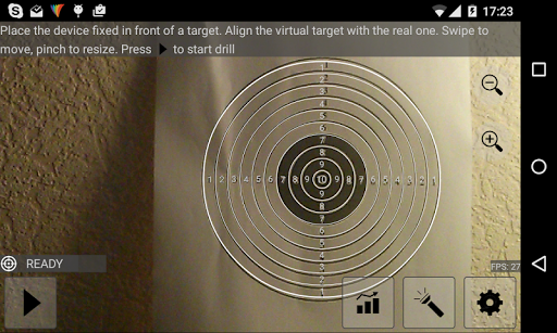 Laser Range - screenshot
