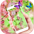 Free Butterfly pink aroma theme APK for Windows 8