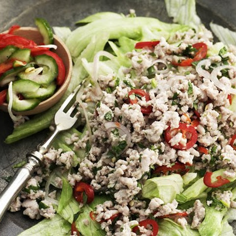 Larb With Thai Pickle