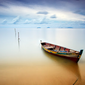 Bound by Bobby Bong - Landscapes Waterscapes ( silent, slowspeed, serenity, beach, boat )