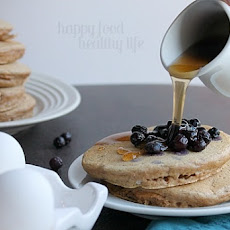 Healthy Whole-Wheat Pancakes