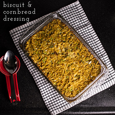 Biscuit and Cornbread Dressing