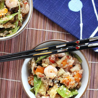 Shrimp & Vegetable Quinoa Fried Rice