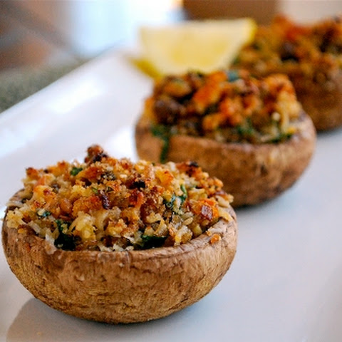 Garlic Stuffed Mushrooms