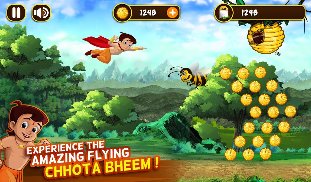 Chhota Bheem Jungle Run Screenshot 1