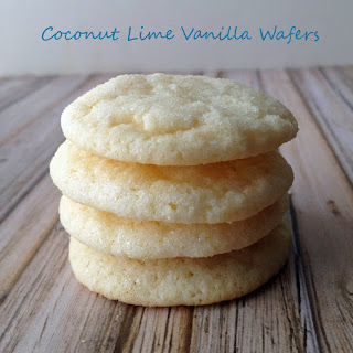 Coconut Lime Vanilla Wafers