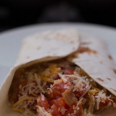 Refried Bean Burritos