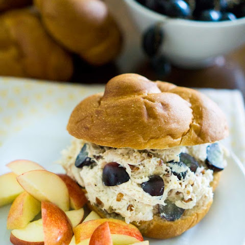 Grape & Pecan Chicken Salad
