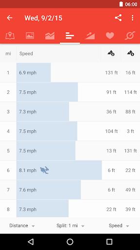 Runtastic Road Bike Cycling GPS Tracker screenshot 2