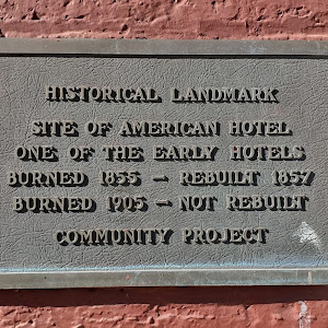 SITE OF AMERICAN HOTEL