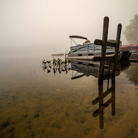 Foggy morning  by Donna Sparks - Landscapes Weather ( water, foggy, fog, weather )