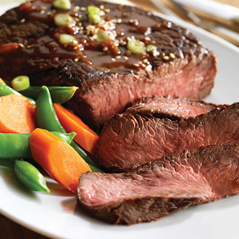 Orange Ginger Steak Teriyaki