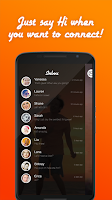 Screenshot of Mingle social& live chat rooms