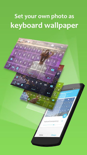 GO Keyboard - Emoticon keyboard, Free Theme, GIF screenshot 2