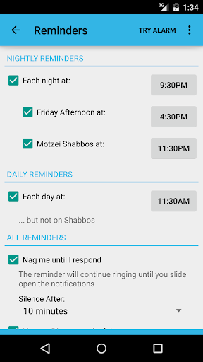 Sefira Reminders - Free For PC
