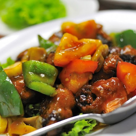 Slow Cooker Sweet & Sour Pork Tenderloin