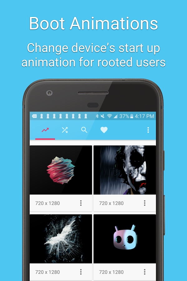 Boot Animations for Superuser Screenshot 0