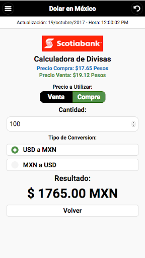 Dollar Price in México screenshot 7