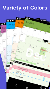 Calendar Z - with reminder - screenshot