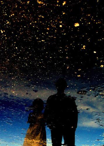 Starry Couple by Irfan Maulana - Abstract Fine Art
