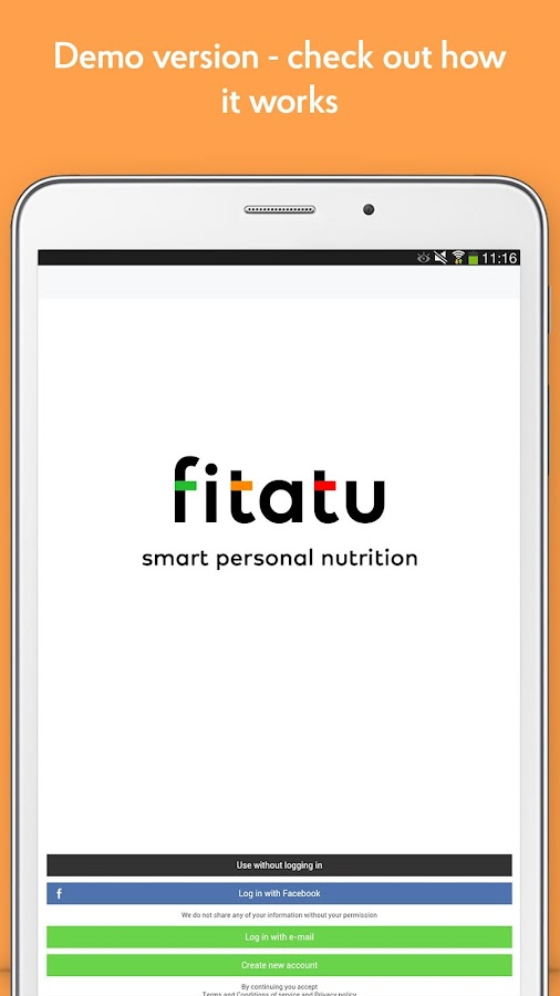 Fitatu Calorie Counter Screenshot 12
