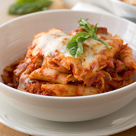 Chicken Fra Diavolo Bake with Penne Pasta and Mozzarella Cheese