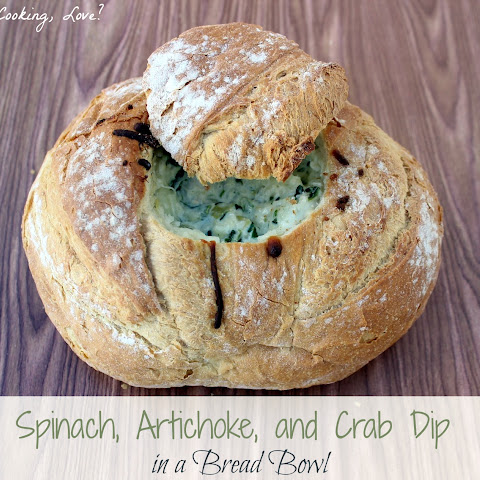 Spinach, Artichoke, and Crab Dip