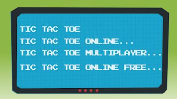 Screenshot of Tic Tac Toe Online