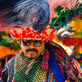 Caboclo de Lança by Claudio Maranhao - People Musicians & Entertainers ( caboclodelança, maracaturural, nazarédamata, pernambuco, brasil )