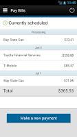 Screenshot of Chevron FCU Mobile Banking