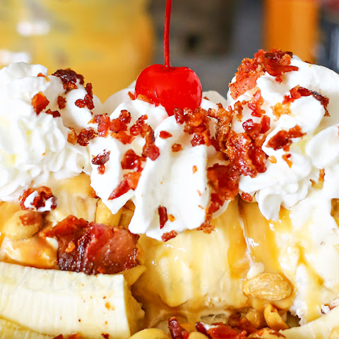Bacon Banana Split