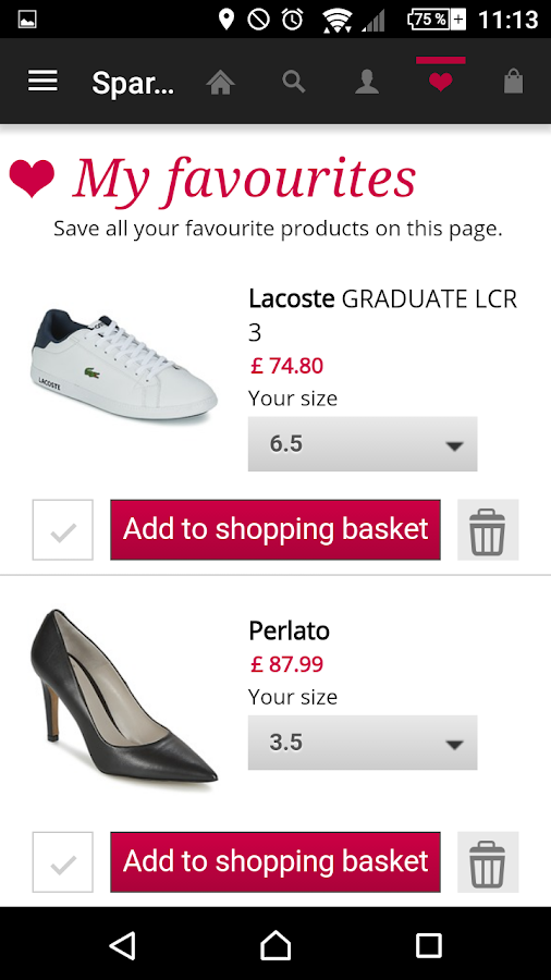 Shoes and fashion Spartoo Screenshot 5