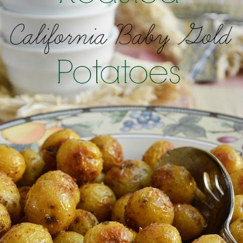 Roasted California Baby Gold Potatoes