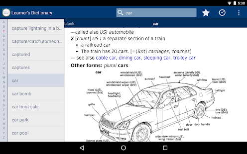 App Learner's Dictionary - English APK for Windows Phone | Android games and apps