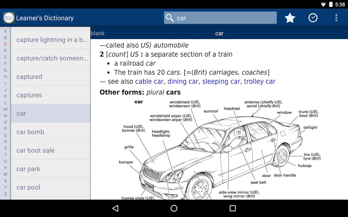 Learner's Dictionary - English Screenshot 14