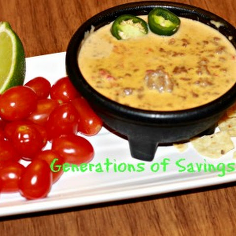 Amazing Tailgate Appetizer - Texas Cheese Dip