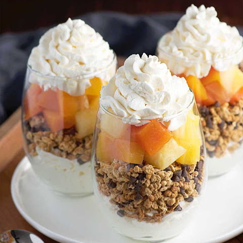 Tropical Fruit Parfaits
