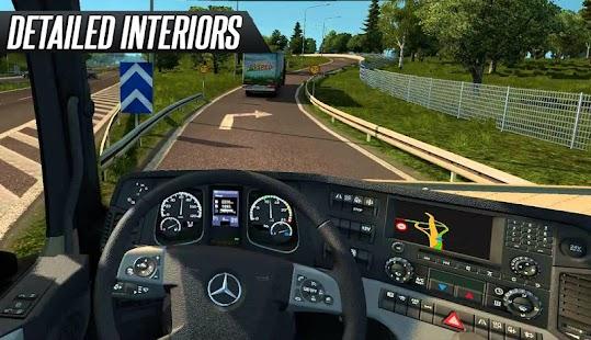 Game Euro Truck Simulator 2017 APK for Windows Phone