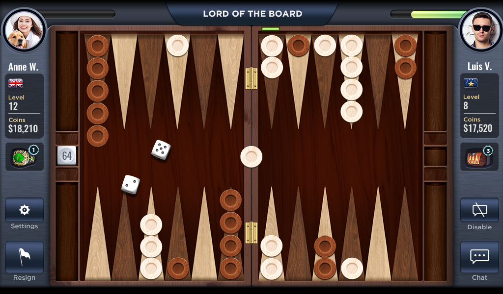 Backgammon - Lord of the Board Screenshot 7
