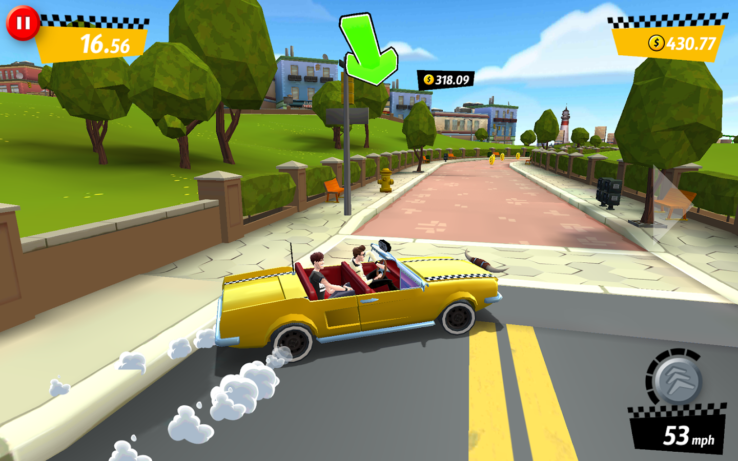Crazy taxi city rush android apps on google play