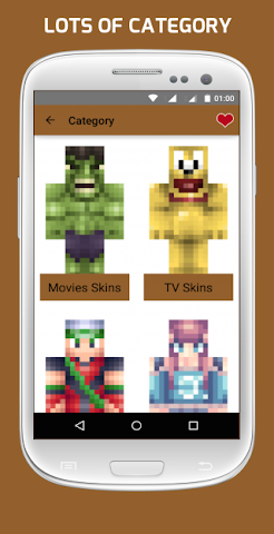 android Girl & Boy Skins for Minecraft Screenshot 1