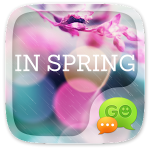(FREE) GO SMS IN SPRING THEME For PC
