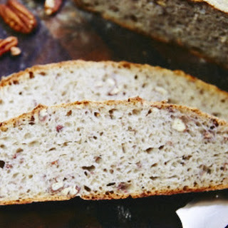 Pecan Rye Sourdough Bread